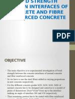Bond Strength Between Interfaces of Concrete - Copy