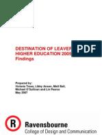 2005-06DestinationofLeavers