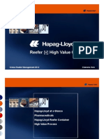 Presentation HapagLloyd Reefer High Value