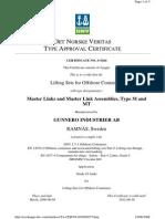 Gunnebo Lifting DNV Master Links S-5264 ( Old)