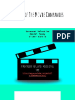 Battle of the Movie Companies