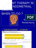 Adj Therapy in Endometrial Cancer
