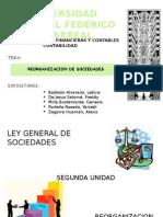 Reorganización de Sociedades Diapositivas