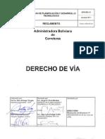 Reglamento Derecho de via Bolivia