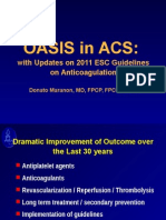 ACS Management and ESC Guidelines
