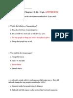 unit 3 test answer key
