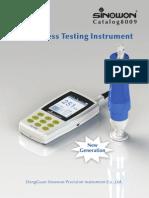 Sinowon Hardness Testing Instrument 8009