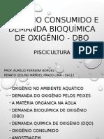 Oxigênio Consumido e Demanda Bioquímica de Oxigênio