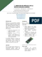 Medición de Señales con Arduino y Labview