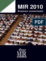 MIR - Examen Comentado 2010