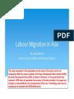 Labor Migration In Asia