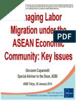 Managing Labour Migration under the ASEAN Economic Community