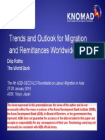Trends and Outlook for Migration and Remittances Worldwide