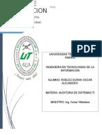 Planeación de La Auditoria Informática