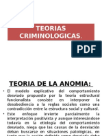 TEORIAS CRIMINOLOGICAS---diapositivas