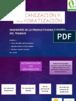 Mecanización y Automatización