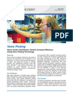 Case Study - VoicePicking