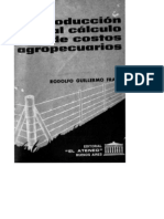 Introduccion Al Calculo de Costos Agropecuarios - Frank