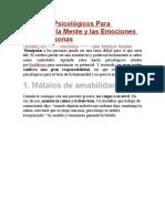 27 Hacks Psicológicos Para Manipular La Mente y Las Emociones de Las Personas