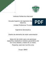 Análisis Paramétrico de Motores Aerorreactores