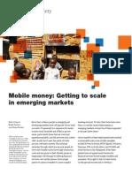Mobile Banking McKinsey 2012