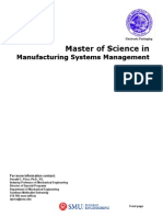 06 Manufacturing Systems Management Brochure