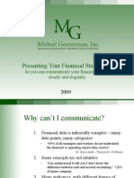 present financial statements