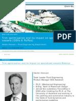 Webinar Trim Optimisation Specialized Vessels Nov 2015