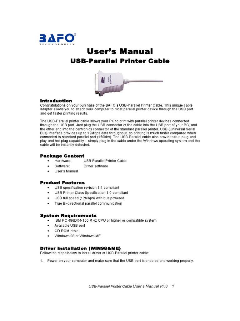 bafo win98 me manual usb electrical connector rh scribd com HP 8600 Printer Guide HP 8600 Printer Guide