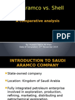 A comparative analysis of Shell Oil and Saudi Aramco by Hussain Hakim Ali Khan.pptx