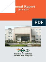 IDSA - Annual Report 2013-14