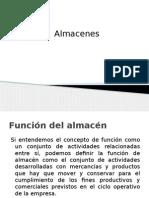 Clase 1; Almacenes