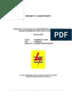 Project Assignment Ferdinan