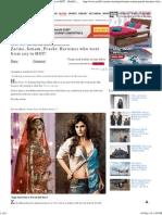 Zarine, Sonam, Prachi_ Heroines Who Went From Coy to HOT! - Rediff