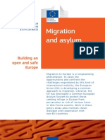 Migration and Asylum - EU Policy