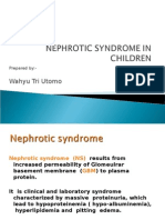 Nephrotic Syndrome h