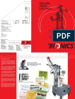 Newspaper Labelers, Magazine Labellers, Publication Label Machines - Tronics America Brochures, Catalogs