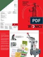 Newspaper Labelers, Magazine Labellers, Publication Label Machines - Tronics America Brochures, Catalogs