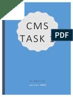 cms task 1