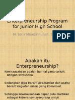 Program Kewirausahaan SMP