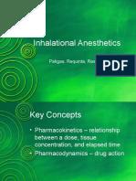 Inhalational Anesthetics
