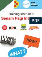 Training Senam AntiKorupsi