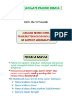 Ppk - Neraca Massa