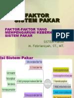 Faktor Sistem Pakar