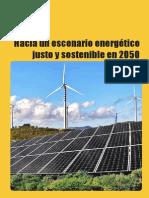 Hacia un escenario energético justo y sostenible en 2050
