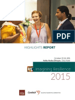 Re-ImaginingResilience Highlights Report