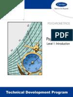 4 Psychrometrics Level1 Introduction (TDP 201A)