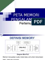 Peta Memori PLC