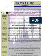 "Al-Jalal Masjid ""The Middle Path"" April 2010 Newsletter"