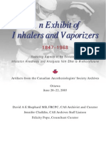 Exhibit of Inhalers